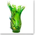 Daum Large Borneo Vase by Emilio Robba, Limited Edition
