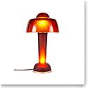 Daum Resonance Lamp in Rosewood Red