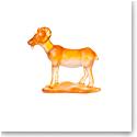 Daum Goat Chinese Horoscope Sculpture