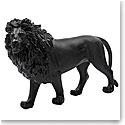 Daum Sand Lion in Black, Limited Edition Sculpture