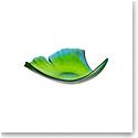 Daum Large Ginkgo Leaf Bowl in Green