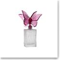 Daum Butterfly Perfume Bottle in Purple
