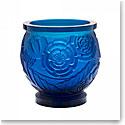Daum Medium Empreinte Vase in Blue, Limited Edition