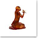 Daum Sara et les Oiseaux by Marie-Paule Deville-Chabrolle, Limited Edition Sculpture