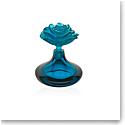 Daum Rose Romance Perfume Bottle in Blue