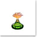Daum Rose Romance Perfume Bottle in Green