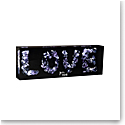 """Daum """"Love"""" by Richard Woleck and Jean-Francois Bollie, Limited Edition Sculpture"""