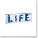 """Daum """"Life"""" by Richard Woleck and Jean-Francois Bollie, Limited Edition Sculpture"""