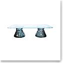 Daum Large Vegetal Coffee Table in Blue-Grey