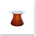 Daum Vegetal Side Table in Amber