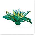 Daum Jardin de Cactus Green Centerpiece by Emilio Robba, Limited Edition