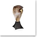 Daum Falcon Head by Madelaine Van der Knoop, Limited Edition Sculpture