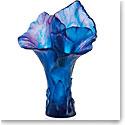Daum Arum Bleu Nuit Magnum Vase