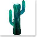 Daum Jardin de Cactus Green Vase by Emilio Robba