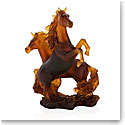 Daum Two Horse Cavalcade Sculpture Sculpture