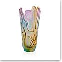 Daum Crystal Rock II by JonOne Vase