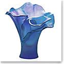 Daum Arum Bleu Nuit Small Vase