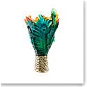 Daum Fleur de Paon Magnum Vase