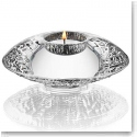 "Orrefors Crystal, Discus Steel 5.5"" Votive, Single"