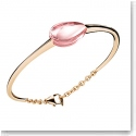 Baccarat Crystal Fleurs De Psydelic Large Bracelet, Gold Vermeil and Light Pink