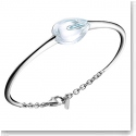 Baccarat Fleurs De Psydelic Large Bracelet, Silver and Clear Mirror