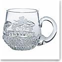 Galway Shamrock Christening Mug