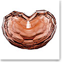 "Moser Crystal Heart Sculpture 7.9"" Rosalin"