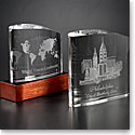 Orrefors Crystal, Ice Block Award, Small