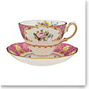 Royal Albert Lady Carlyle Teacup and Saucer Set