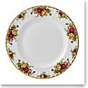 "Royal Albert Old Country Roses Dinner Plate 10.5"""