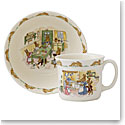 Royal Doulton Bunnykins Baby Nurseryware Infant Bowl and Mug, Set