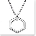 Nambe Men's Jewelry Hexagon Pendant