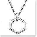 Nambe Men's Jewelry Hexagon Pendant