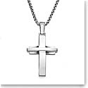Nambe Men's Jewelry Streamlined Cross Pendant
