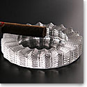 Lalique Jamaica Crystal Ashtray