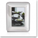 "Nambe Metal Braid 4x6"" Picture Frame"