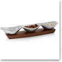 "Nambe Metal Drift 16"" Condiment Server"