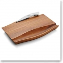 Nambe Wood Drift Cheese Board With Knife