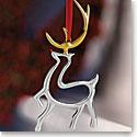 Nambe 2018 Reindeer Ornament