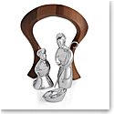 Nambe Miniature Nativity Holy Family, 4 Piece Set