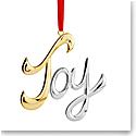 Nambe Joy Ornament