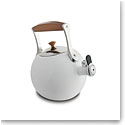 Nambe Metal Gourmet Meridian Tea Kettle, White