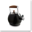 Nambe Metal Gourmet Meridian Tea Kettle, Black