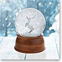 Nambe Reindeer Snow Globe