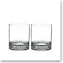 Nambe Crystal Braid Crystal DOF Tumbler, Pair