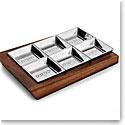 Nambe Geo Seder Plate