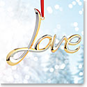 Nambe 2017 Love Ornament