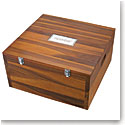 Nambe Wood Miniature Nativity Storage Box