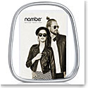 "Nambe Bubble 5"" x 7"" Picture Frame"