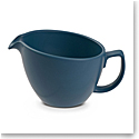 Nambe Orbit Cream Pitcher Aurora Blue